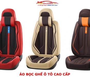 Áo da bọc ghế ô tô 2020