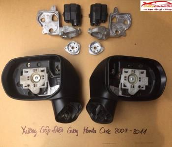Mô tơ gập gương, xương Honda Civic 2007-2011