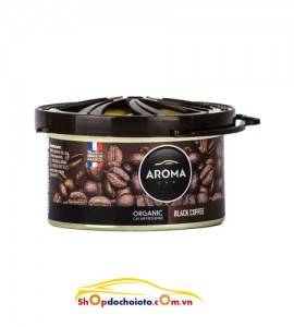 Sáp thơm Black Coffee Aroma Car Organic 40g