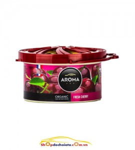 Sáp thơm Cherry Aroma Car Organic 40g