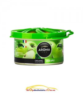 Sáp thơm Green Apple Aroma Car Organic 40g