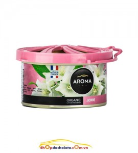 Sáp thơm Jasmine Aroma Car Organic 40g