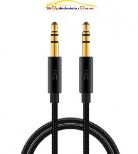 Dây AUX cho ô tô – Cáp audio 2 đầu 3.5mm Male