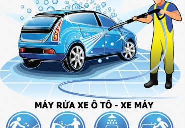 Máy rửa xe