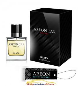 Nước hoa ô tô Black Areon Car Perfume 50ml