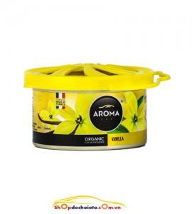 Sáp thơm Vanilla Aroma Car Organic 40g