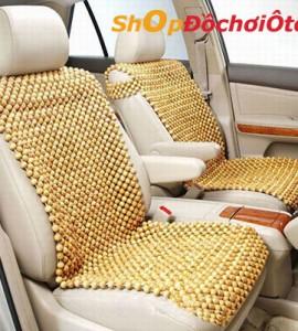 Đệm lót ghế ô tô hạt gỗ Pơ Mu