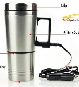 Ấm đun nước ô tô, pha trà, cafe, sữa