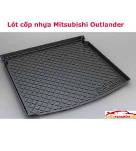 Lót cốp nhựa TPO Mitsubishi Outlander
