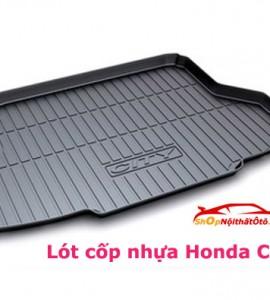 Lót cốp nhựa Honda City