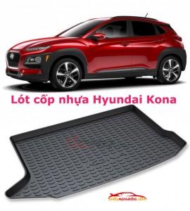 Lót cốp nhựa Hyundai Kona