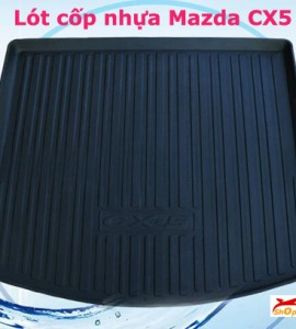 Lót cốp nhựa Mazda CX5