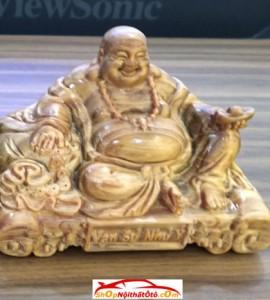 Tượng gỗ taplo Phật Di Lặc gỗ Ngọc Am