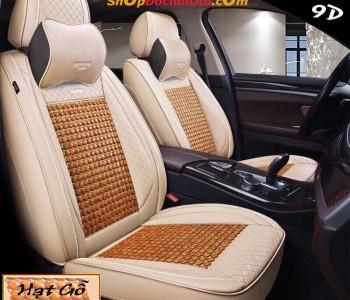 Áo bọc ghế ô tô 9D B05 – hạt gỗ