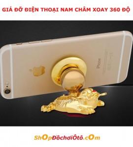 Giá đỡ điện thoại nam châm 360 độ