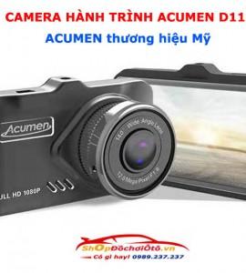 Camera hành trình Acumen D11 tích hợp camera lùi