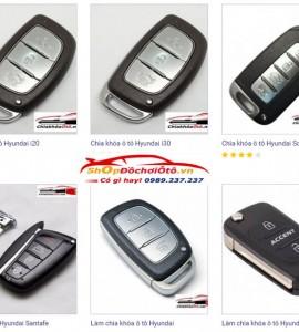 Chìa khóa ô tô Hyundai