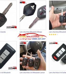 Chìa khóa ô tô Mitsubishi
