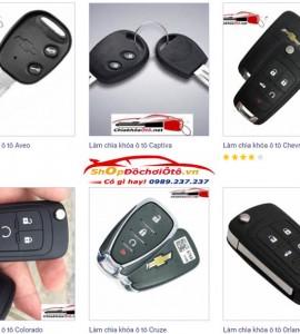 Chìa khóa Chevrolet