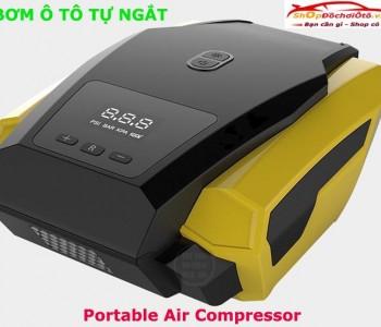 Máy bơm lốp ô tô tự ngắt Portable Air Compressor