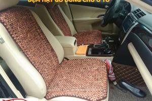 Đệm hạt gỗ ghế ô tô cao cấp