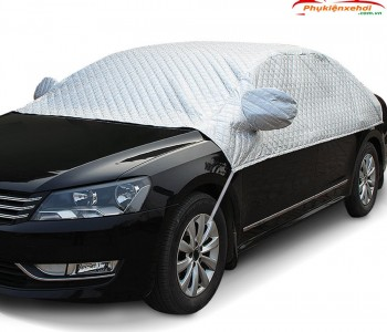 Bạt phủ nửa xe ô tô, bạt phủ nóc xe ô tô