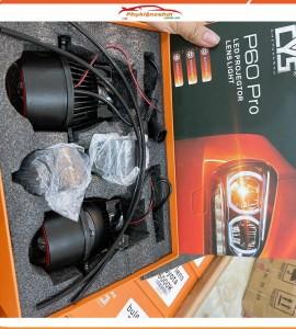 Đèn gầm Bi Led P60 Pro 6000K (2 chế độ Pha/Cos)
