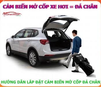 Cảm biến mở cốp ô tô, Bộ cảm biến đá chân mở cốp