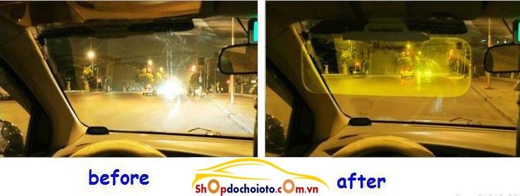 Kính chống chói cho ô tô ngày và đêm