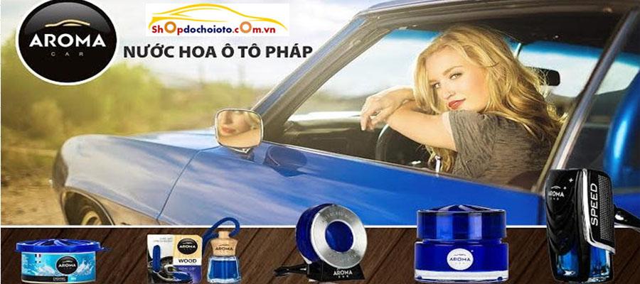 nước hoa ô tô aroma