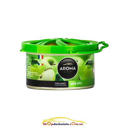 AromaCarOrganic40gGreenApple