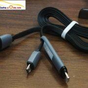 dây sạc điện thoại đa năng, dây sạc điện thoại dùng chung