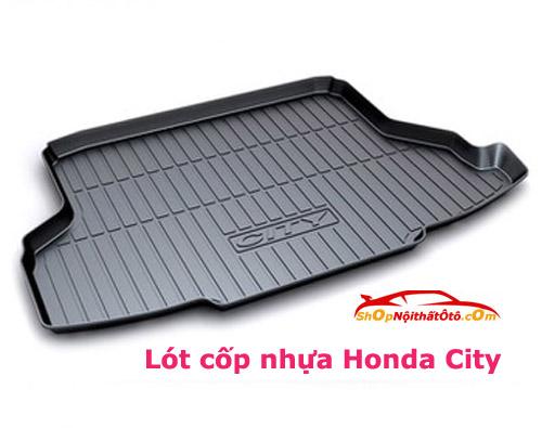 Lót cốp nhựa Honda City, Lót cốp nhựa City, Lót cốp Honda City, Lót cốp City, Lót cốp nhựa