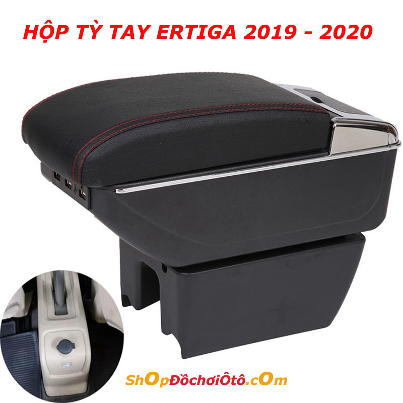 Hộp tỳ tay Ertiga, Hộp tỳ tay Ertiga 2020, Hộp tỳ tay Ertiga mẫu mới, bệ tỳ tay Ertiga, bệ tỳ tay Ertiga 2020