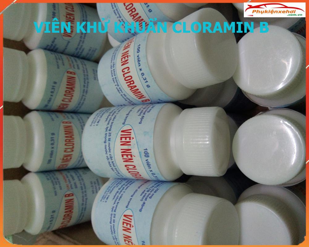 Viên khử khuẩn Cloramin B, Viên khử khuẩn Cloramin B Việt Nam, Viên sát khuẩn Cloramin B, Viên sát khuẩn, Viên khử khuẩn, Viên sát trùng, Viên khử khuẩn chính hãng, Viên khử khuẩn dùng cho gia đình, Viên khử khuẩn dùng trên ô tô