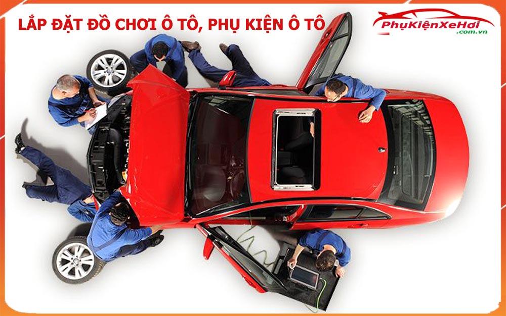 Tự lắp đặt đồ chơi ô tô, hướng dẫn lắp đặt đồ chơi ô tô
